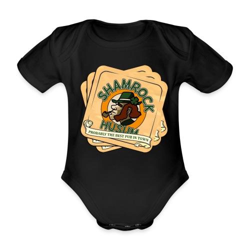 Shamrock Husum Logo Bierdeckel - Baby Bio-Kurzarm-Body