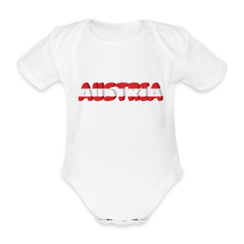 Austria Textilien und Accessoires - Baby Bio-Kurzarm-Body