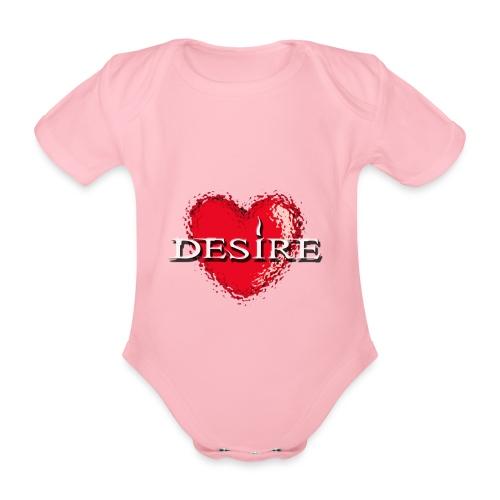Desire Nightclub - Organic Short-sleeved Baby Bodysuit