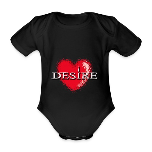 Desire Nightclub - Organic Short-sleeved Baby Bodysuit