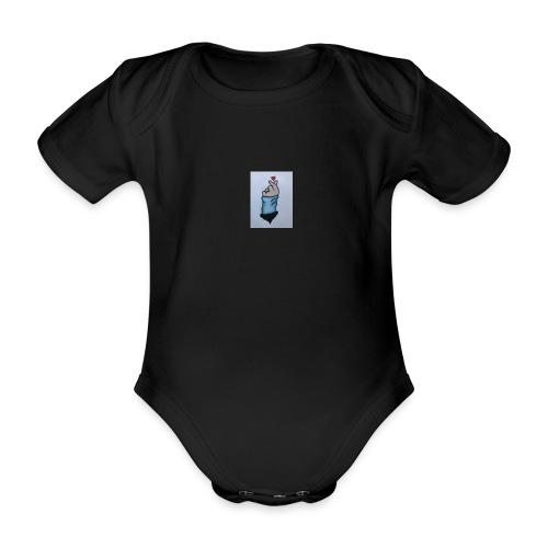 baby + mussemåtte - Kortærmet babybody, økologisk bomuld