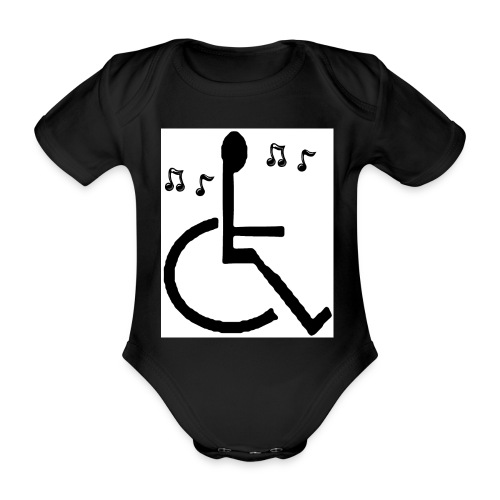 Musical Chairs - Organic Short-sleeved Baby Bodysuit