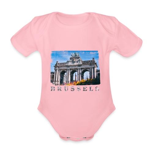 Brussels | Jubelpark - Baby bio-rompertje met korte mouwen