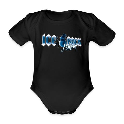 Schriftzug normal - Baby Bio-Kurzarm-Body