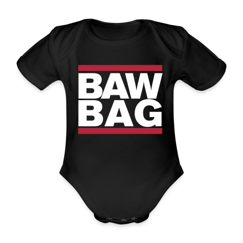 Bawbag Scotland - Organic Short-sleeved Baby Bodysuit