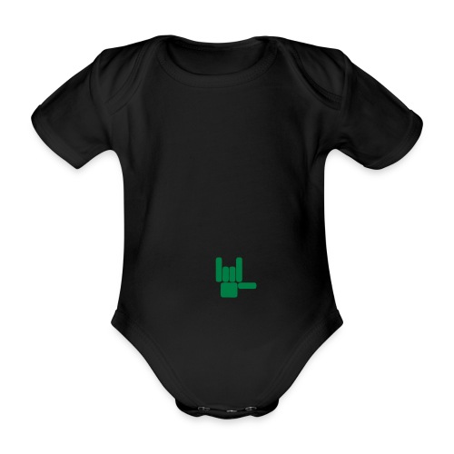 Beau Qui T'Eau boxershort - Baby bio-rompertje met korte mouwen