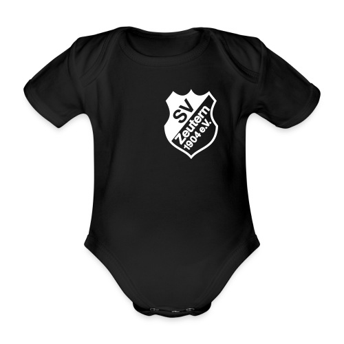 svzlogo trikot bear - Baby Bio-Kurzarm-Body