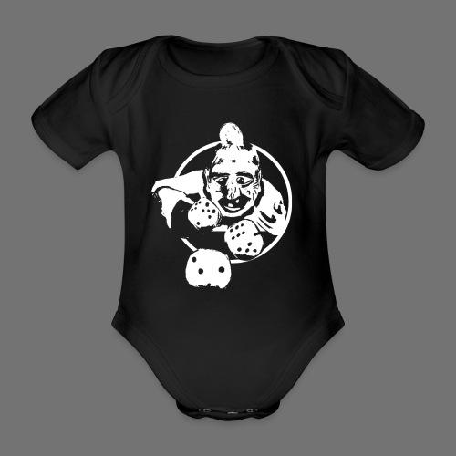 Professional Gambler (1c valkoinen) - Vauvan lyhythihainen luomu-body