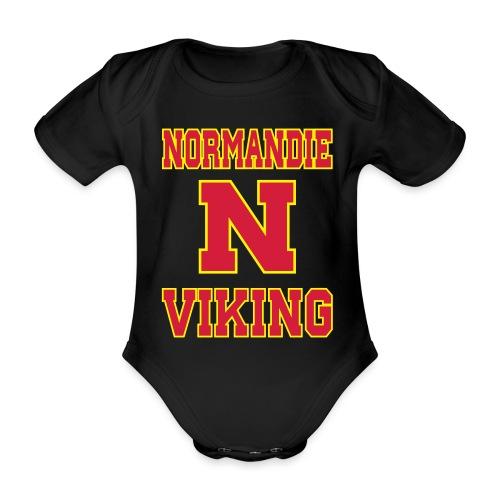 Normandie Viking - Body Bébé bio manches courtes