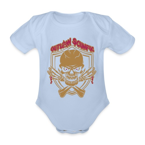Outlaw Scumfuc - Baby Bio-Kurzarm-Body