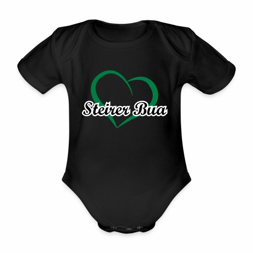 Steirerbua - Baby Bio-Kurzarm-Body
