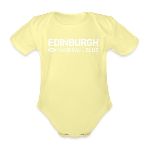 ehcblue - Organic Short-sleeved Baby Bodysuit
