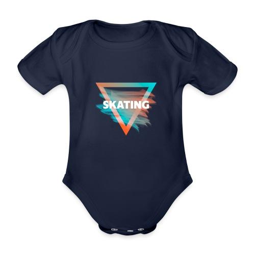 Skating Diffus - Baby Bio-Kurzarm-Body
