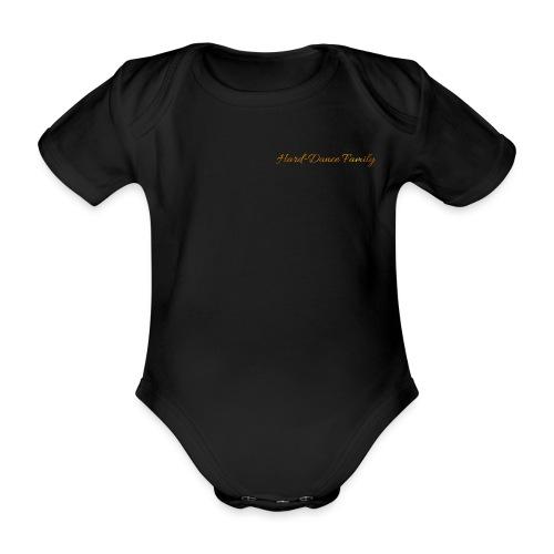 Hard Dance Family Classic - Baby bio-rompertje met korte mouwen