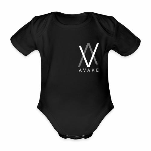 AVAKE logo - Organic Short-sleeved Baby Bodysuit