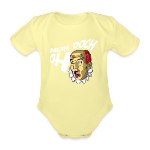 Louis de Funès - Baby Bio-Kurzarm-Body