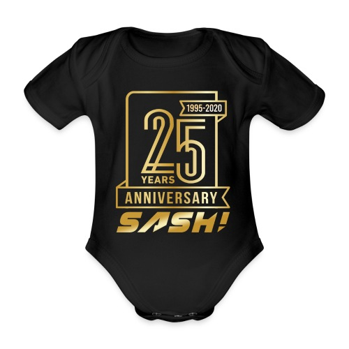 SASH! 25 Years Annyversary - Organic Short-sleeved Baby Bodysuit