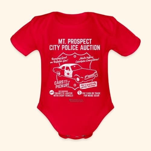 Mount Prospect Police Auction Geek T-Shirt - Baby Bio-Kurzarm-Body