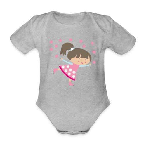 Happy Meitlis - Eisprinzessin - Baby Bio-Kurzarm-Body
