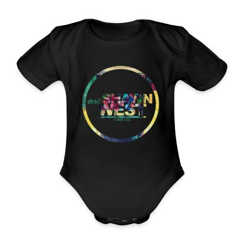SHAWN WEST ART OF COLOR - Baby Bio-Kurzarm-Body