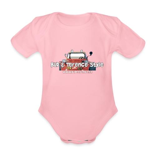 Bud Terence Style logo - Body ecologico per neonato a manica corta