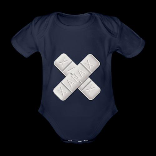 Xanax X Logo - Baby Bio-Kurzarm-Body