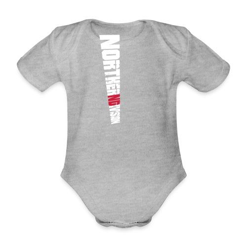nd badg 2vari perspective - Vauvan lyhythihainen luomu-body