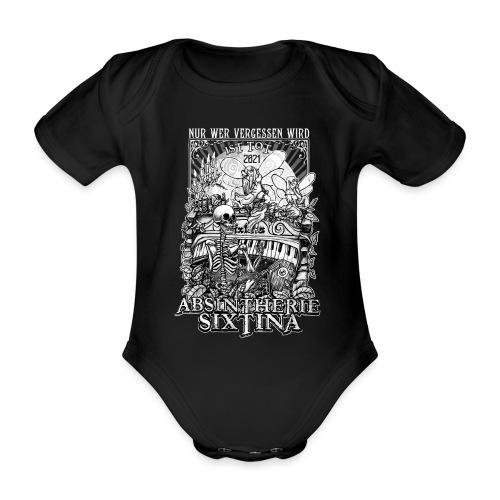 Absintherie Sixtina 2021 - Sixtina Support - Baby Bio-Kurzarm-Body