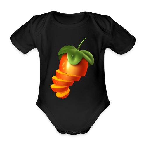 Sliced Sweaty Fruit - Organic Short-sleeved Baby Bodysuit