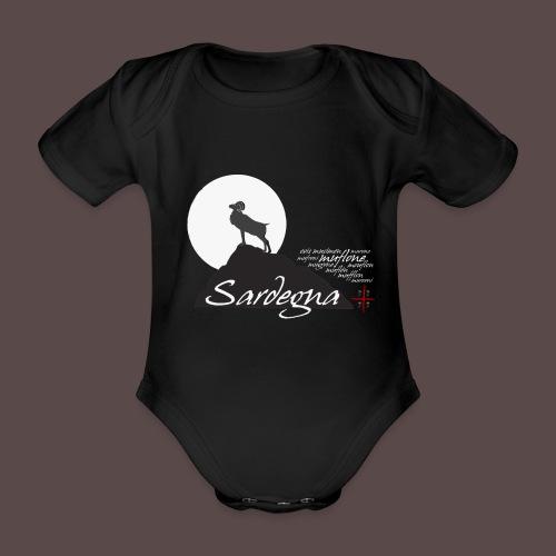 Mufflon Sardinia - Body ecologico per neonato a manica corta