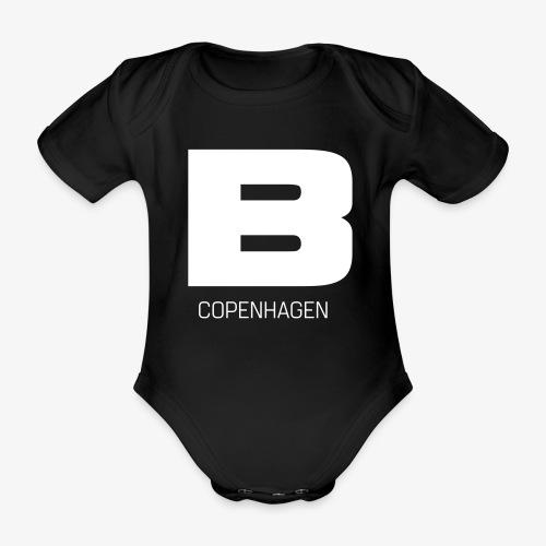 BADASSCOPENHAGEN - B_CPH - Kortærmet babybody, økologisk bomuld