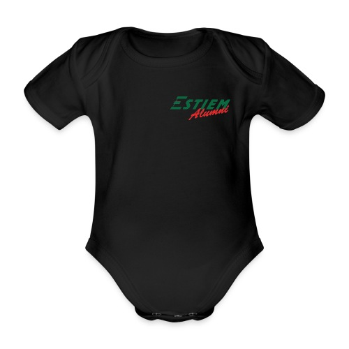 ESTIEM Alumni png - Organic Short-sleeved Baby Bodysuit