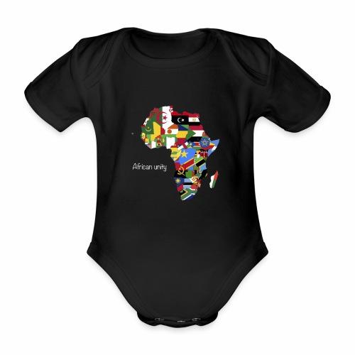 African unity - Body Bébé bio manches courtes