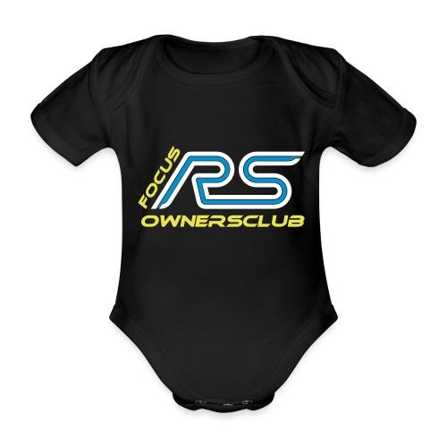 logo focus rs ownersclub shirt cmyk - Baby Bio-Kurzarm-Body