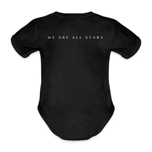 Galaxy Music Lab - We are all stars - Kortærmet babybody, økologisk bomuld