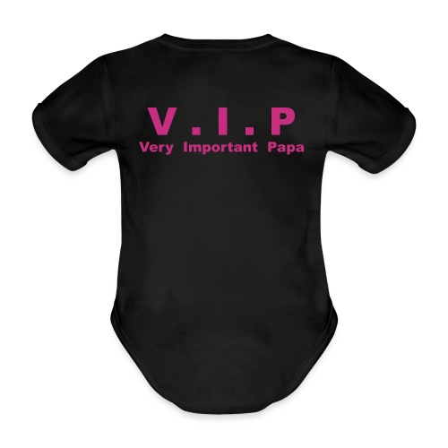 Vip - Very Important Papa - Body Bébé bio manches courtes