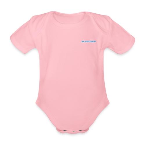 logoschanzerv3 2 - Baby Bio-Kurzarm-Body