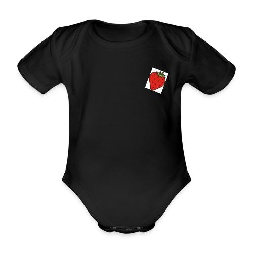 erdbeere jpg - Baby Bio-Kurzarm-Body