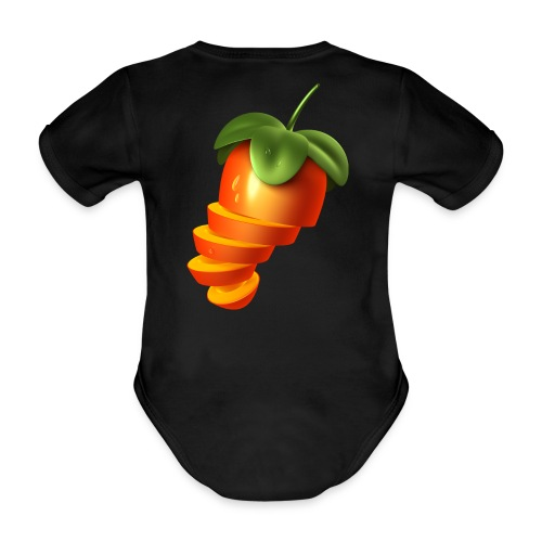 Sliced Sweaty Fruit - Organic Short-sleeved Baby Bodysuit