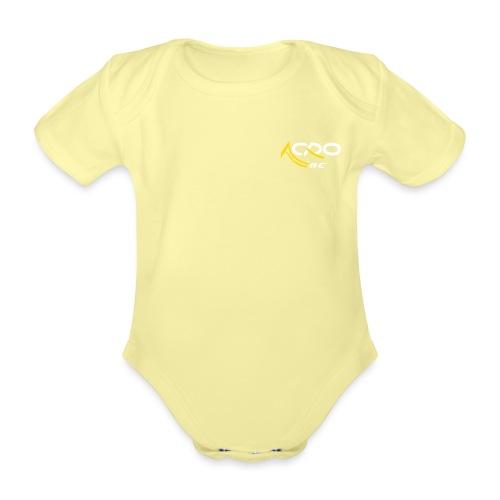 Acro ZL Kleur - Baby bio-rompertje met korte mouwen
