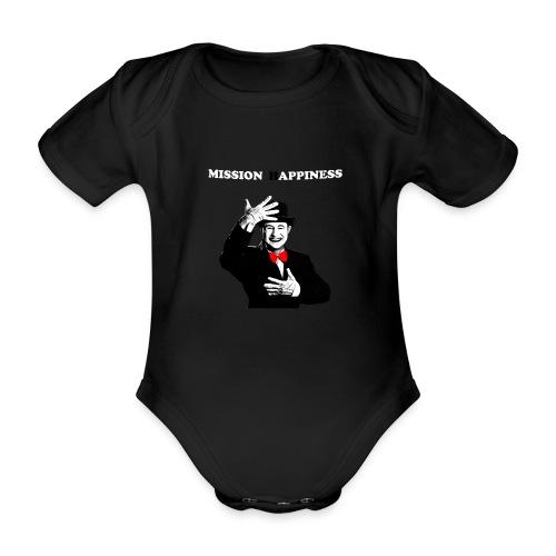 Ti Apro La Porta - Organic Short-sleeved Baby Bodysuit