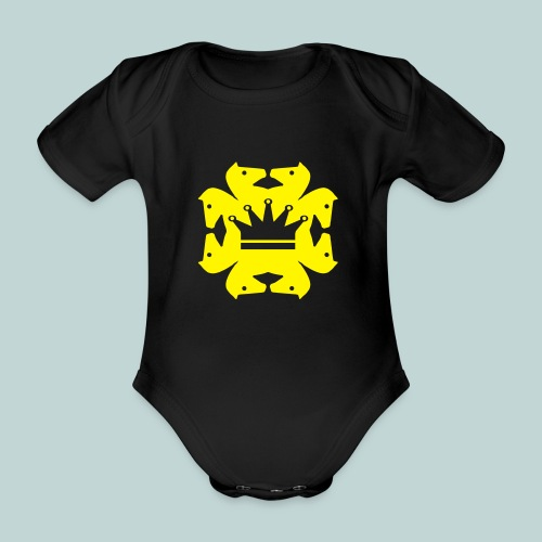 acht Springer - Baby Bio-Kurzarm-Body