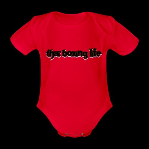MTS92 THAI BOXING LIFE - Body Bébé bio manches courtes