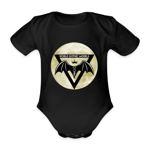 WGM Logo + Different is Beautiful | 2 Sided Design - Organic Short-sleeved Baby Bodysuit