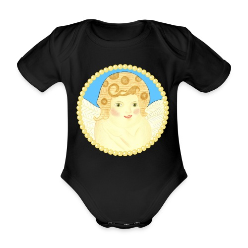 Engel Dina - Baby Bio-Kurzarm-Body
