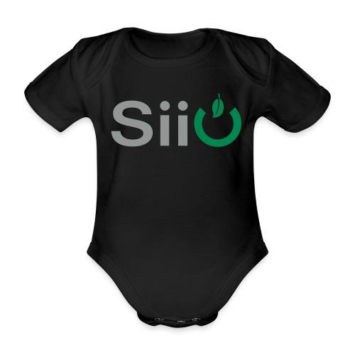 Siio Button ohne Schatten - Baby Bio-Kurzarm-Body