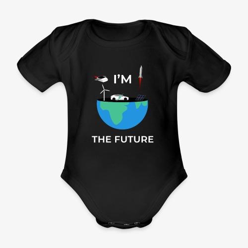 I'm the Future   Kids - Baby - Baby bio-rompertje met korte mouwen