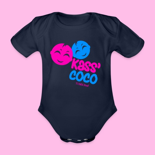 Collection KASS' COCO by Ti Bébé Kreol - Body Bébé bio manches courtes