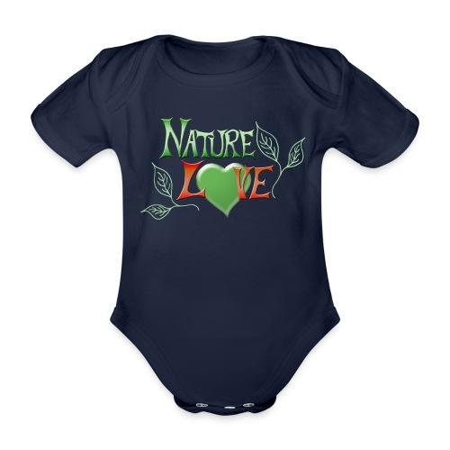 Nature Love - Baby Bio-Kurzarm-Body