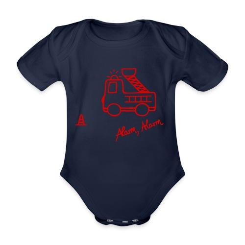 Feuerwehrauto 112 - Baby Bio-Kurzarm-Body